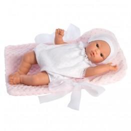 Asi, Кукла бебе Коке с одеяло на розови точки