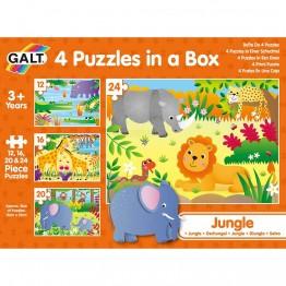 4 пъзела в кутия, Джунгла