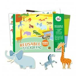 Комплект със стикери за многократна употреба, Животински свят