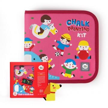 Блокче за рисуване с тебешири, Детски свят