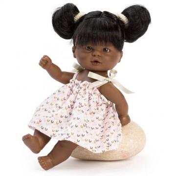 Кукла-бебе Елси, негърче, 20 см, Bomboncin, Asi