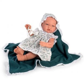 Кукла-бебе Мария, с рокля и одеялце