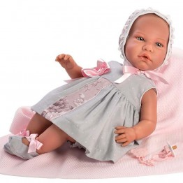 Кукла бебе, Даниела, лимитирана серия, 46 см, Asi dolls