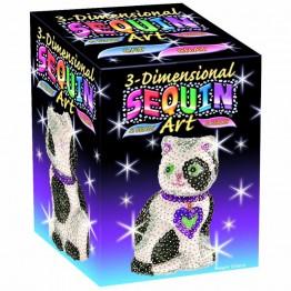 3D фигурка от пайети - Коте