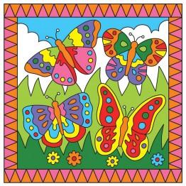 Рисувай по номера - Пеперуди/Жабки