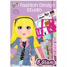 """Книжка """"Модерни  момичета"""" - моден дизайн на облекла и аксесоари"""