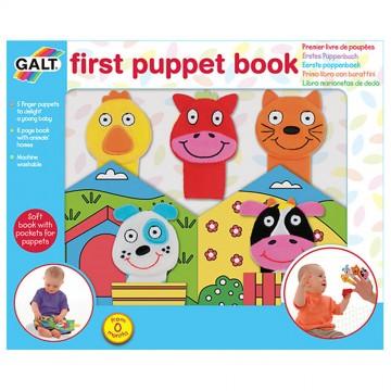 Бебешка книжка с комплект кукли за пръсти