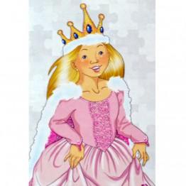 """Блестящ пъзел """"Принцеси"""""""