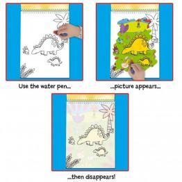 Рисувай с вода - Динозаври