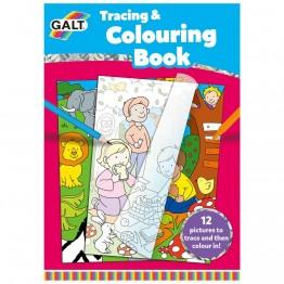 Книжка за прекопиране и оцветяване