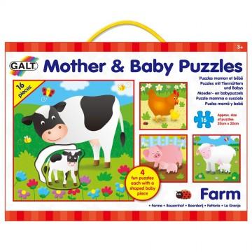 Четири пъзела в кутия, Майки и бебета, Ферма
