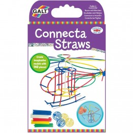 Пластмасов конструктор от гъвкави цветни пръчици