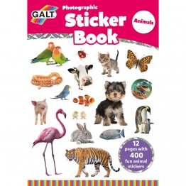Книжка със стикери, Животни
