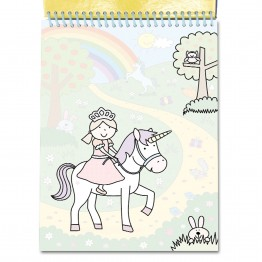 Книжка за рисуване с вода, Еднорози
