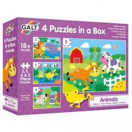 4 пъзела в кутия, Животни
