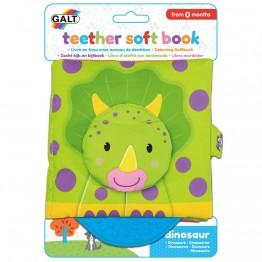 Бебешка шумяща книжка с гризалка, Динозавър