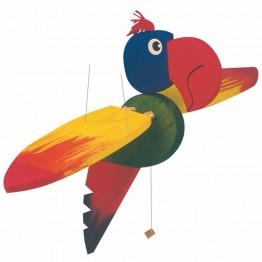 Висяща играчка за декорация Папагал, голям