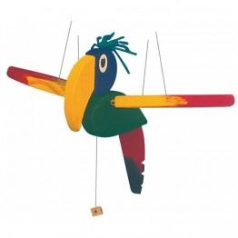 Висяща играчка за декорация Папагал, малък