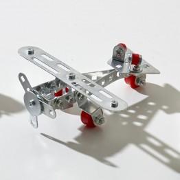 Метален конструктор, Самолет, 70 части, Tronico