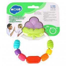 Гризалка за бебе с цветни мъниста, Грозде