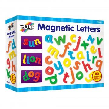 Английската азбука, 80 броя магнитни букви