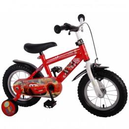 Детски велосипед с помощни колела Дисни Колите, 12 инча