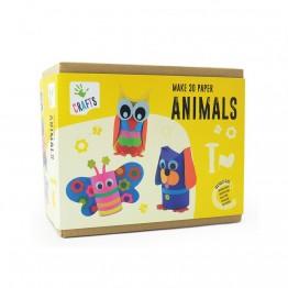Направи 3D животни от хартия