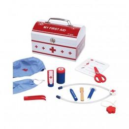 Докторски комплект, Първа помощ