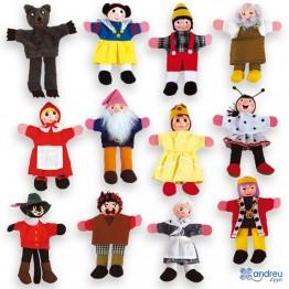 Кукли за пръсти - 12 броя
