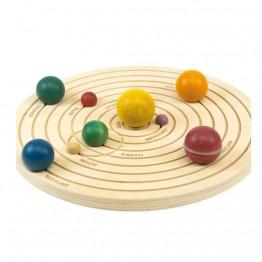 Дървена 3D Слънчева система