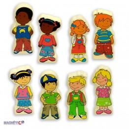 Магнитни деца - 8 героя
