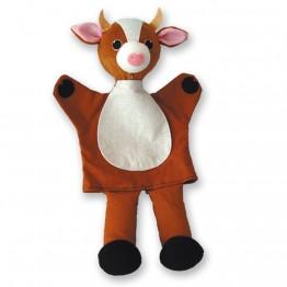 Кукла за ръка - Животни - Крава