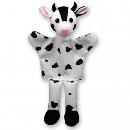 Кукла за ръка - Бяла крава