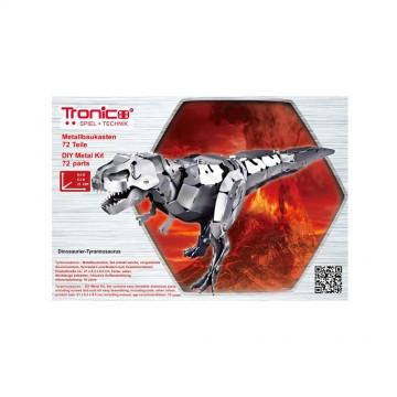 3D метален пъзел, Тиранозавър Рекс, Tronico