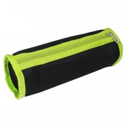 Несесер за моливи, черно и зелено