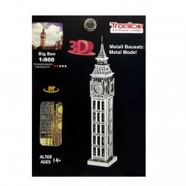 3D метален пъзел, Биг Бен, Tronico