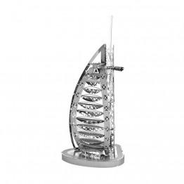 3D метален пъзел, Хотел Бурж ал Араб, Дубай, Tronico
