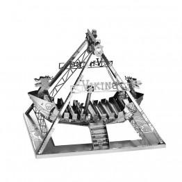 3D метален пъзел, Викингски кораб, Tronico