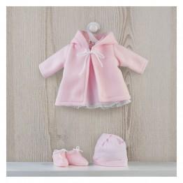 Дрехи за кукла, Розово палтенце за кукла Мария