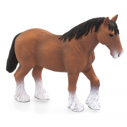Клайдесдейл, кафяв шотландски кон