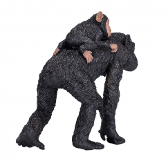 Шимпанзе с бебе