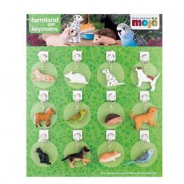 Ключодържатели Домашни животни 10 модела