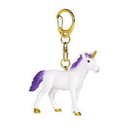 Ключодържател Еднорог, пурпурен