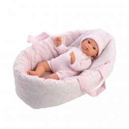 Аксесоар за кукла, Кошче за кукла бебе, 30-36 см