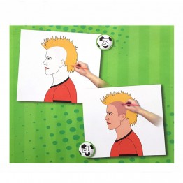 Книжка със стикери и шаблони, Футболисти
