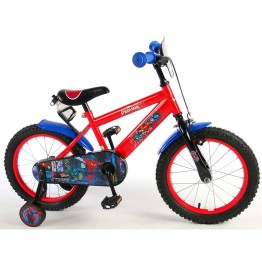 Детски велосипед с помощни колела Дисни Frozen, 16 инча