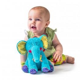 Сладкият слон Калео - играчка за бебе
