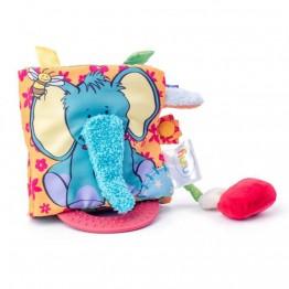 Niny, Бебешка книжка за активна игра, Синьото слонче