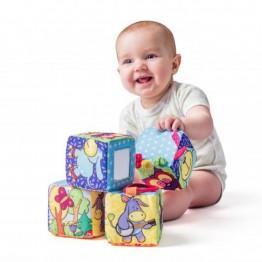 Niny, Бебешка активни кубчета, Животни