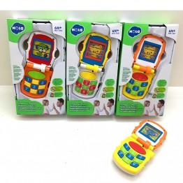 Mобилен телефон, с музика и светлина за бебе, асортимент